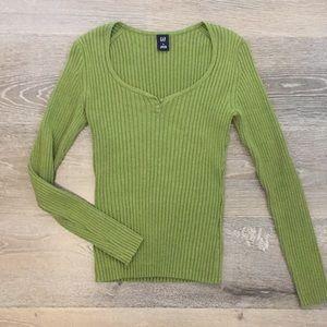 Gap Green Sweater